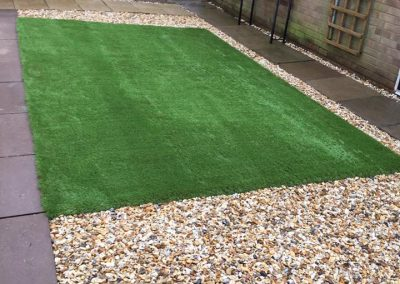 Artifical Grass Patio