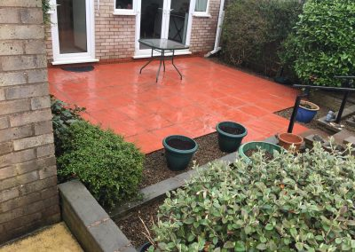 Jetwashed Patio