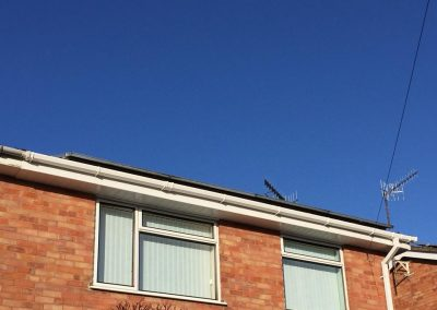 Gutters replaced
