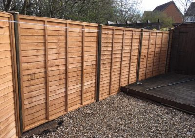 Large garden fence panels